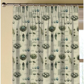 Clarke and Clarke Countryside Eggs&Nests Linen Made to Measure Curtains