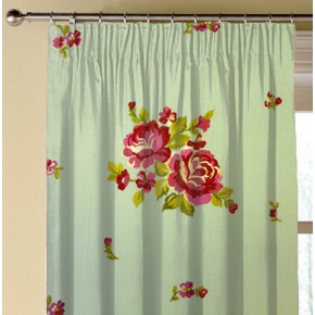 Prestigious Textiles Jubilee Elizabeth Azure Made to Measure Curtains