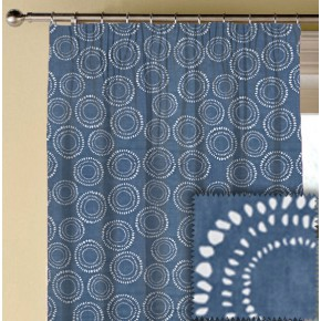 Prestigious Textiles SouthBank Embankment Denim Made to Measure Curtains