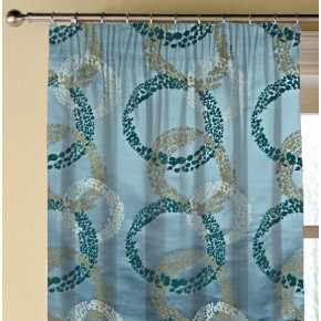 Prestigious Textiles Focus Exposure Marine Made to Measure Curtains