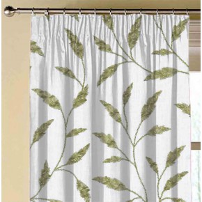 Avebury Fairford Olive Made to Measure Curtains