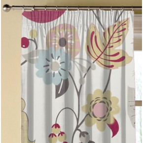 Clarke and Clarke Folia Folia Summer Made to Measure Curtains