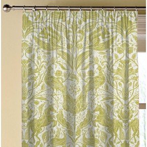 Country Garden Forest Trail Citrus Made to Measure Curtains