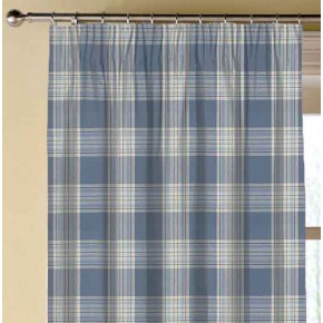 Clarke and Clarke Glenmore Clarke and Clarke Glenmore Denim Made to Measure Curtains