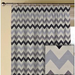 Prestigious Textiles Metro Graphix Anthracite Made to Measure Curtains