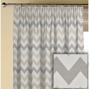 Prestigious Textiles Metro Graphix Natural Made to Measure Curtains