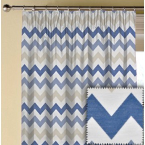 Prestigious Textiles Metro Graphix Porcelain Made to Measure Curtains
