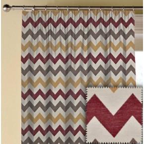 Prestigious Textiles Metro Graphix Spice Made to Measure Curtains