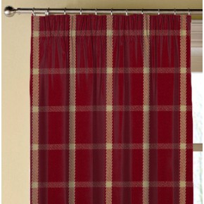 Prestigious Textiles Highlands Halkirk Cardinal Made to Measure Curtains