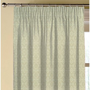 Clarke and Clarke Halcyon Hampstead Natural Made to Measure Curtains