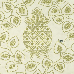 Bloomsbury Charleston Citron Curtain Fabric