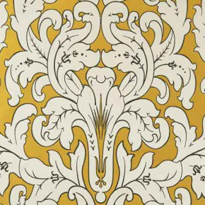 Clarke and Clarke Chateau Chateau Gold Curtain Fabric