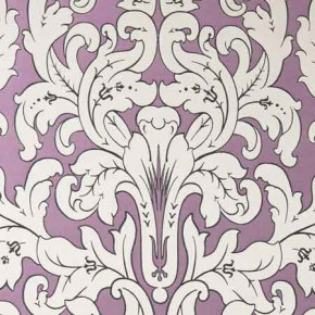 Clarke and Clarke Chateau Chateau Violet Curtain Fabric