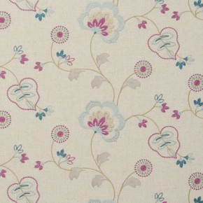 Clarke and Clarke Manorhouse Chatsworth Duckegg Curtain Fabric