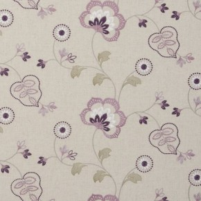 Clarke and Clarke Manorhouse Chatsworth Orchid Cushion Covers