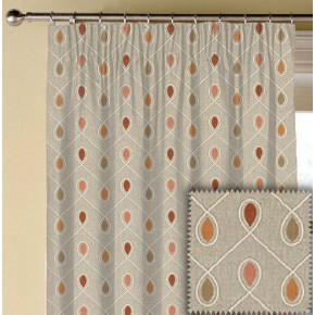 Clarke and Clarke Richmond Healey Spice Made to Measure Curtains