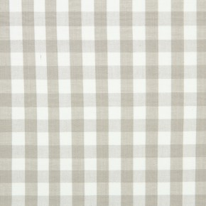 Marina Check  Linen Curtain Fabric