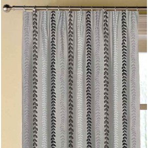 Prestigious Textiles Annika Heidi Graphite Made to Measure Curtains