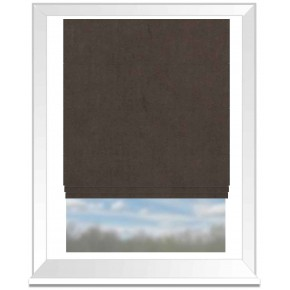 Clarke and Clarke Altea Chestnut Roman Blind