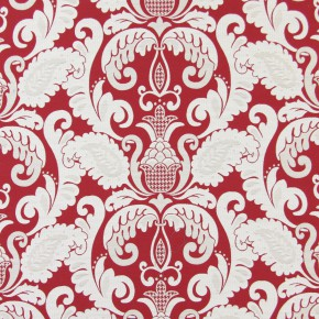 Indigo Cheyenne  Cranberry Made to Measure Curtains