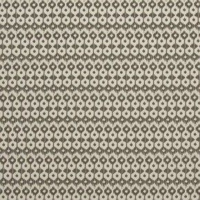 Clarke and Clarke Zanzibar Chico Charcoal Curtain Fabric
