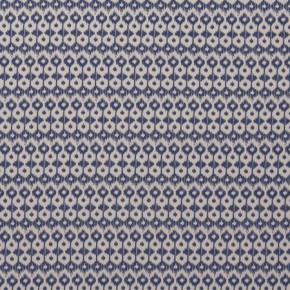 Clarke and Clarke Zanzibar Chico Indigo Curtain Fabric