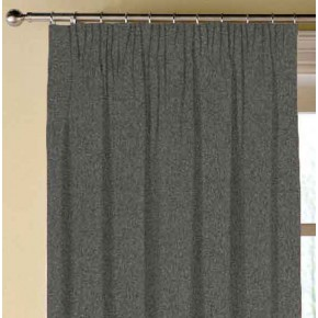 Clarke and Clarke Highlander Charcoal Made to Measure Curtains