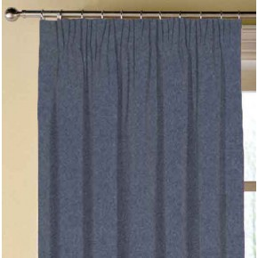 Clarke and Clarke Highlander Denim Made to Measure Curtains