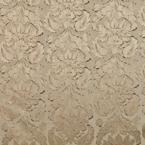 Samarkand Chinaz Taupe Curtain Fabric