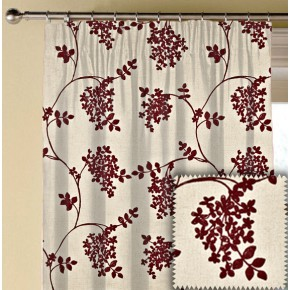 Prestigious Textiles Devonshire Honiton Chianti Made to Measure Curtains