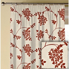 Prestigious Textiles Devonshire Honiton Paprika Made to Measure Curtains