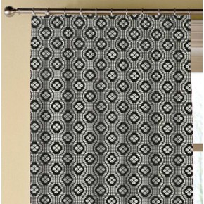 Clarke and Clarke Chateau Hugo Noir Made to Measure Curtains