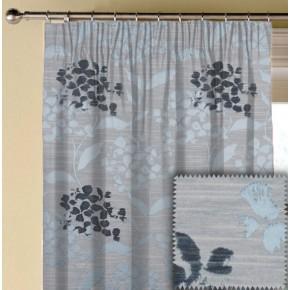 Prestigious Textiles Eden Hydrangea Bluebell Made to Measure Curtains