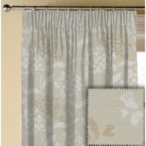 Prestigious Textiles Eden Hydrangea Oyster Made to Measure Curtains