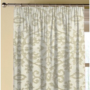 Clarke and Clarke Imperiale Ivory Made to Measure Curtains