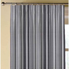 Prestigious Textiles Annika Ingrid Graphite Made to Measure Curtains
