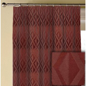 Prestigious Textiles Samba Jive Paprika Made to Measure Curtains