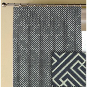 Prestigious Textiles Metro Key Anthracite Made to Measure Curtains