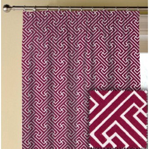 Prestigious Textiles Metro Key Fuchsia Made to Measure Curtains