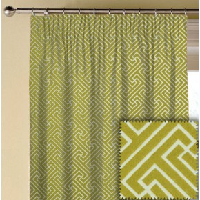 Prestigious Textiles Metro Key Lime Made to Measure Curtains