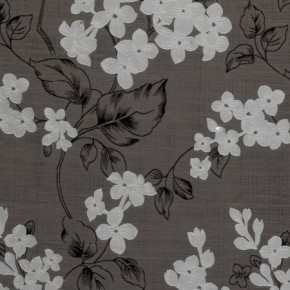 Clarke and Clarke Holland Park Clarendon Charcoal Curtain Fabric