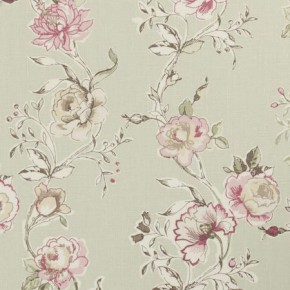 Clarke and Clarke Clarisse Clarisse Sage Curtain Fabric