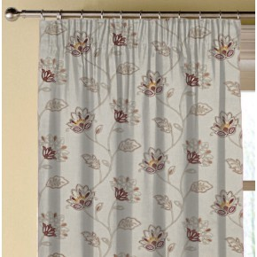 Prestigious Textiles Provence LaRochelle Paprika Made to Measure Curtains