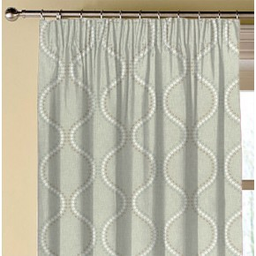 Clarke and Clarke Halcyon Layton Duckegg Made to Measure Curtains