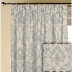 Clarke and Clarke Richmond Leyburn Duckegg Made to Measure Curtains