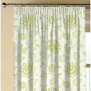 Clarke and Clarke Halcyon Liliana Apple Made to Measure Curtains