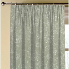 Clarke and Clarke Halcyon Liliana Dove Made to Measure Curtains
