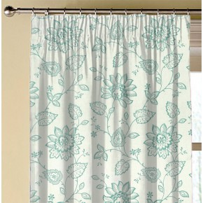 Clarke and Clarke Halcyon Liliana Duckegg Made to Measure Curtains