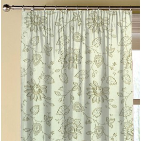 Clarke and Clarke Halcyon Liliana Linen Made to Measure Curtains
