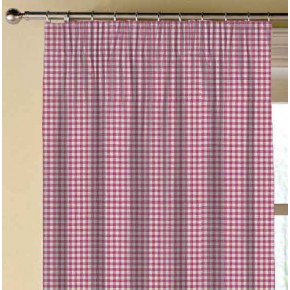 Clarke and Clarke Glenmore Loch Fuchsia Made to Measure Curtains